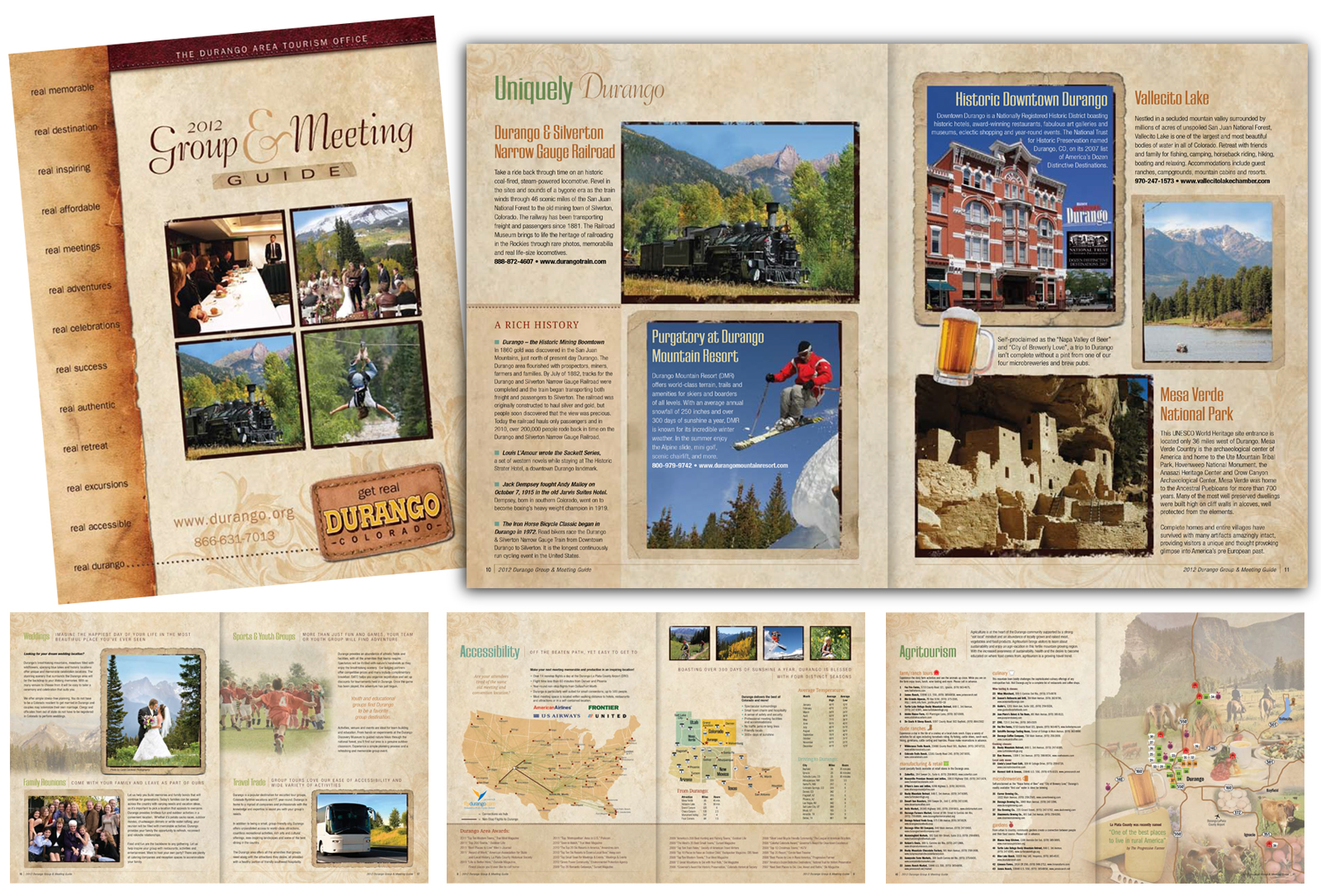 Tourism Advertising, travel guides